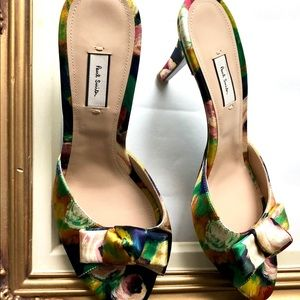 New with tags Paul Smith satin heels